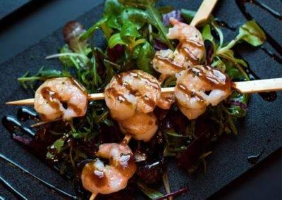 terriaki schrimp