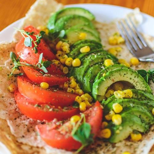 vegitarian taco