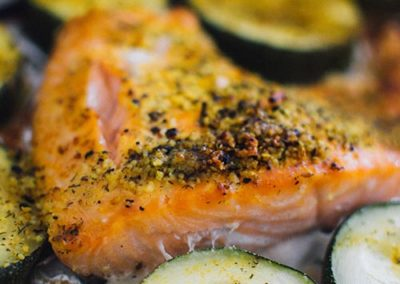 Oven cooked Salmon