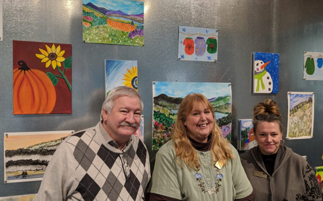 Edenton Residents Display Artwork at the Delaplaine Visual Arts Center