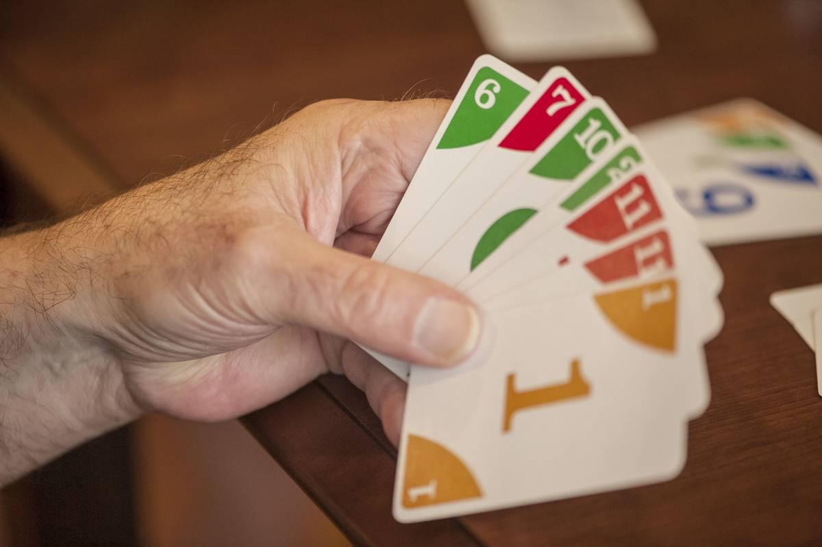 Playing Card Games at Edenton